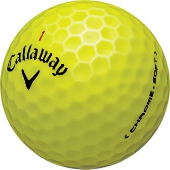 Callaway Chrome Soft Yellow Personalized