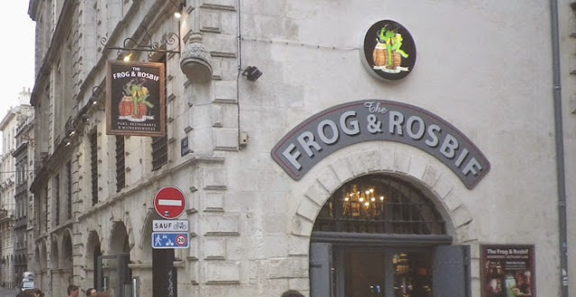 Frog and Rosbif bordeaux