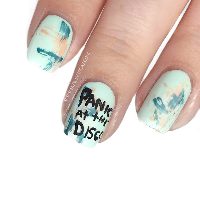 Panic at the Disco Nails