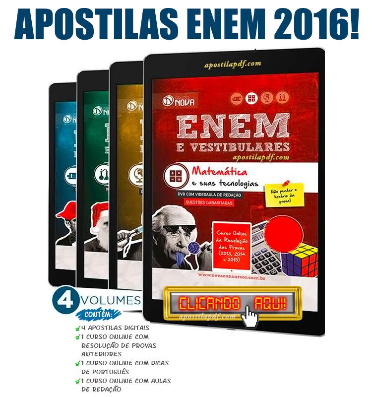 Apostila ENEM 2016 PDF Download Curso Online ENEM 2016 Grátis