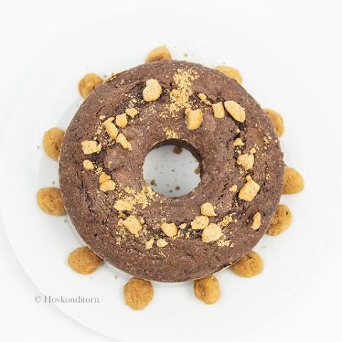 Chocolate Kruidnoten Cake
