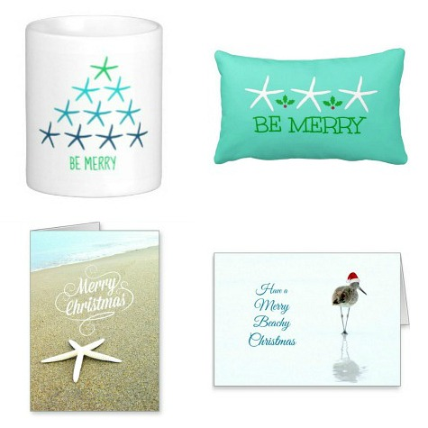 Beach Christmas Designs