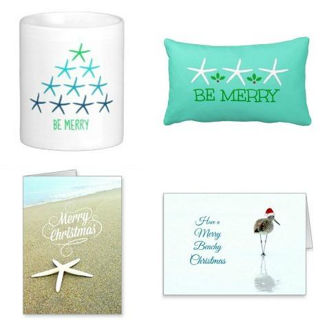 Beach Christmas Designs