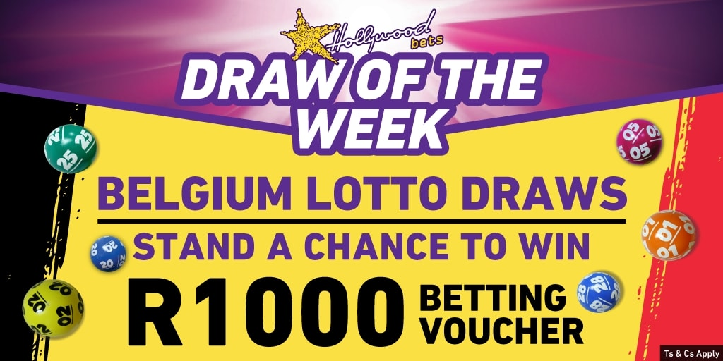 Belgium Lotto - Draw of the Week - Hollywoodbets - Lucky Numbers