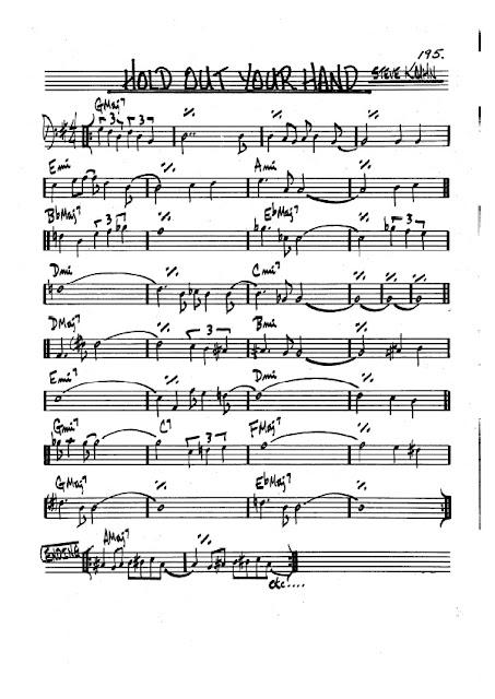Partitura Trombón Steve Kuhn