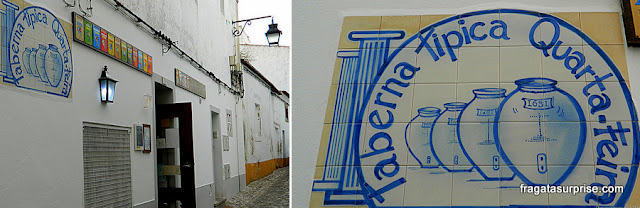 Comer em Évora, Portugal - Taberna Típica Quarta-Feira
