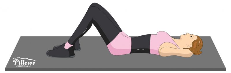 18 Easy Stretches In 18 Minutes To Help Reduce Back Pain - PELVIC TILT