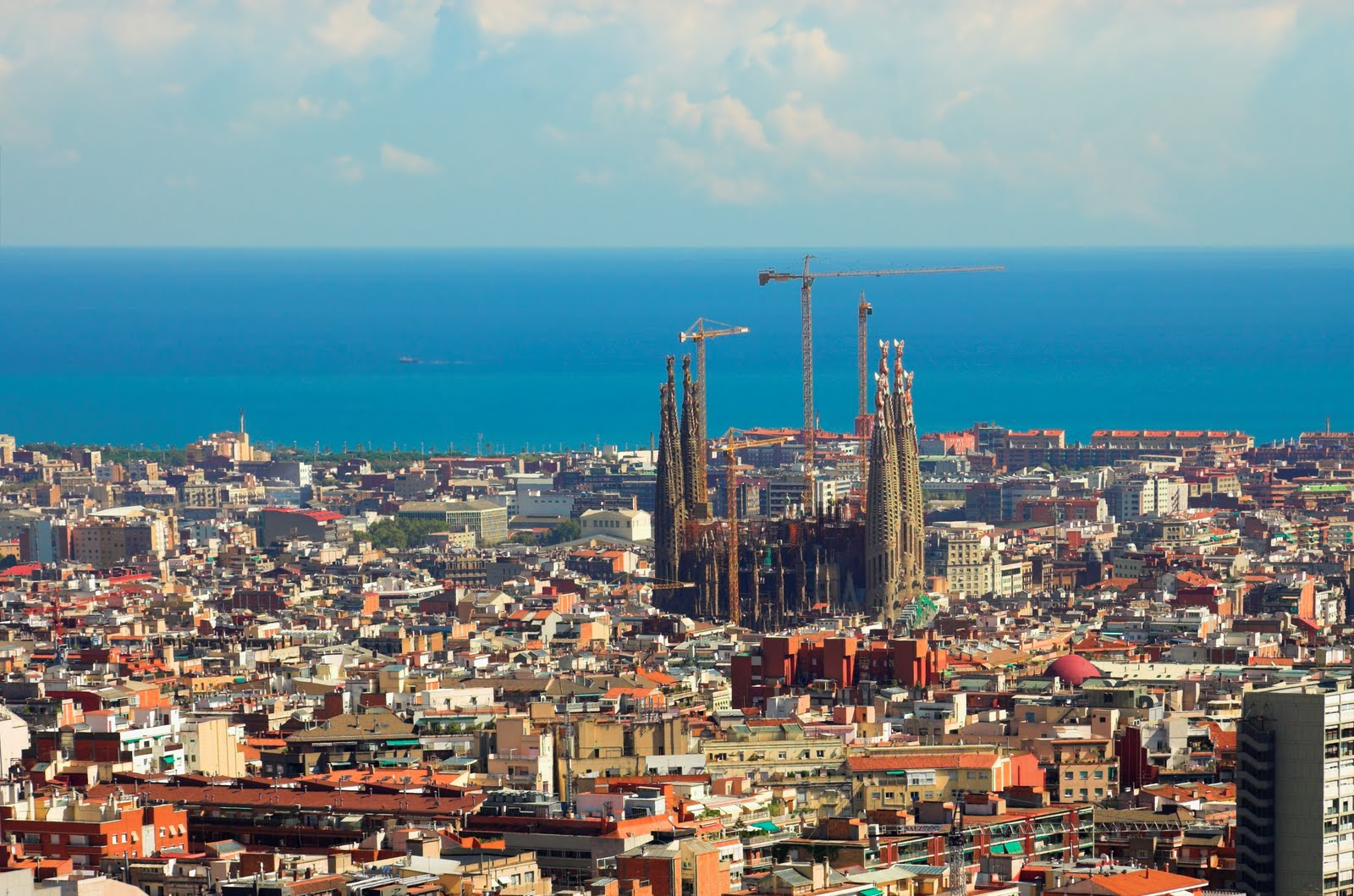 World Beautifull Places: Barcelona Spain 2nd Largest City Nice View In ...