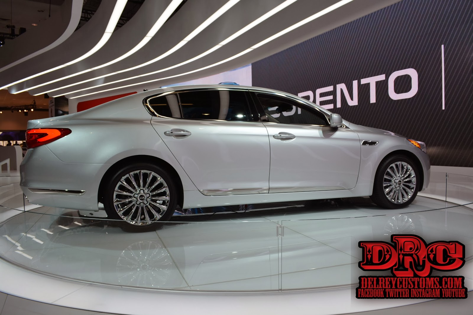 Delreycustoms Automotive News 2015 Kia K900 World Debut Soul