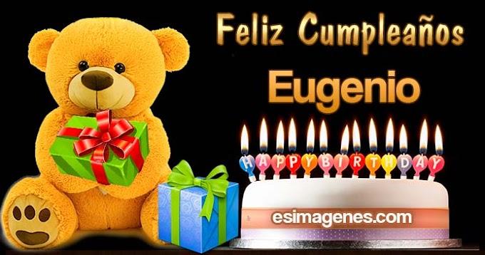 Feliz cumpleaños Eugenio