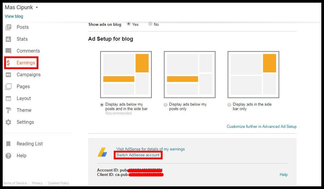 cara mengatasi masalah file ads.txt error google adsense di blogger