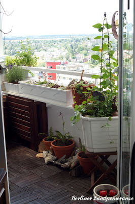 4,5 Quadratmeter kleiner Balkon