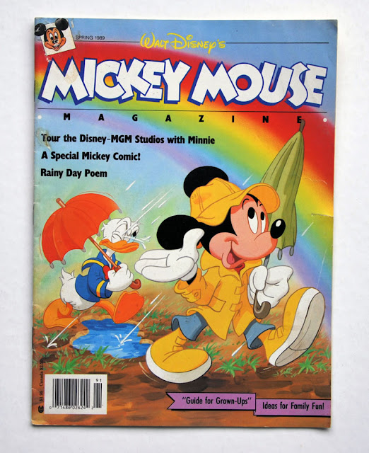 Mickey Mouse Magazine, Spring 1989