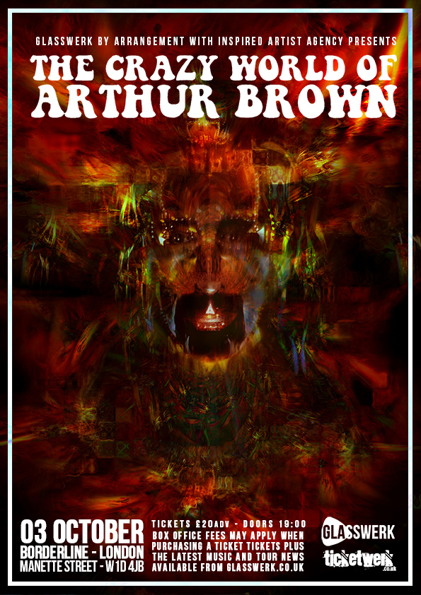 Ham Life: The Crazy World of Arthur Brown at the Borderline was ...