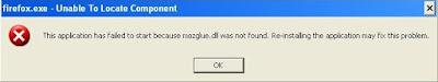 error mozilla firefox