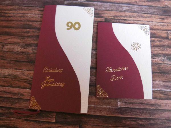 Einladungskarten Zum 90 Geburtstag U2013 Sleepwells, Einladungs