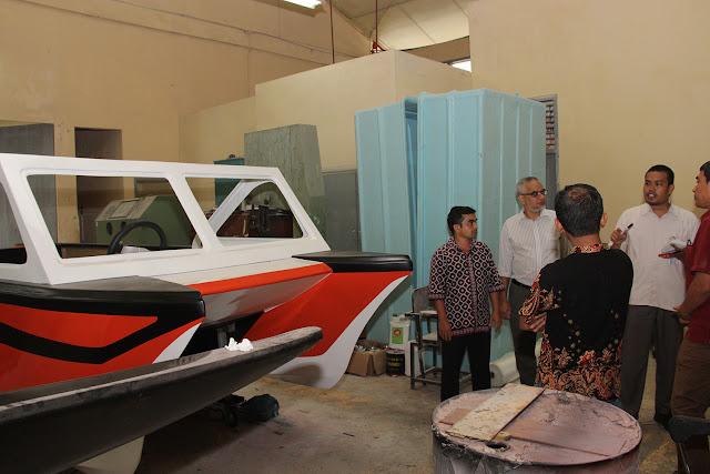 Unsyiah Buat Perahu Katamaran untuk Mancing dan Wisata
