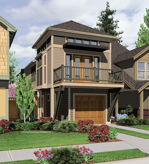 Build A Small House In Very Narrow Lot In Virginia Joy