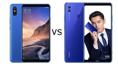 Xiaomi Mi Max 3 vs Honor Note 10