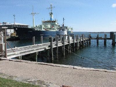 Woods Hole Pier