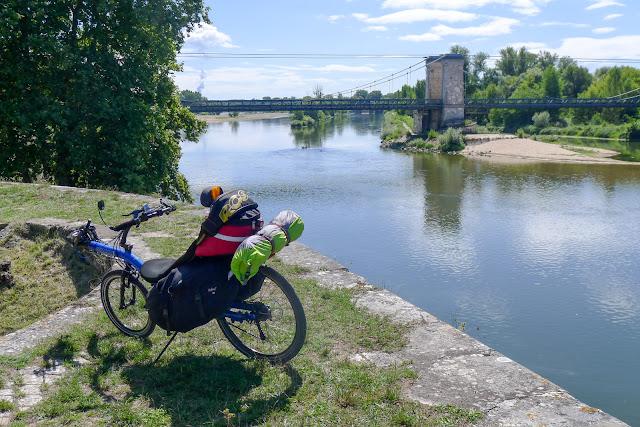 De Paris à Narbonne en vélo, Chatillon-sur-Loire