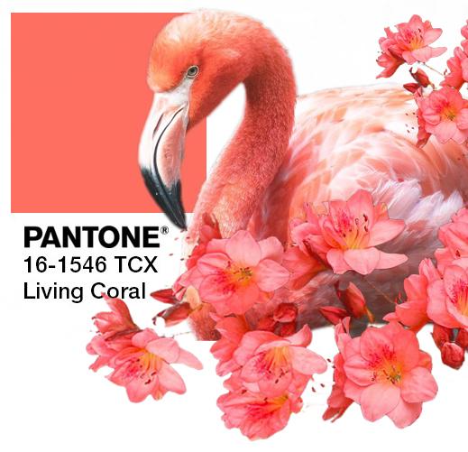 Pomadka, róż i cień w odcieniach Living Coral! (oraz trochę analizy kolorystycznej dla mądralińskich)