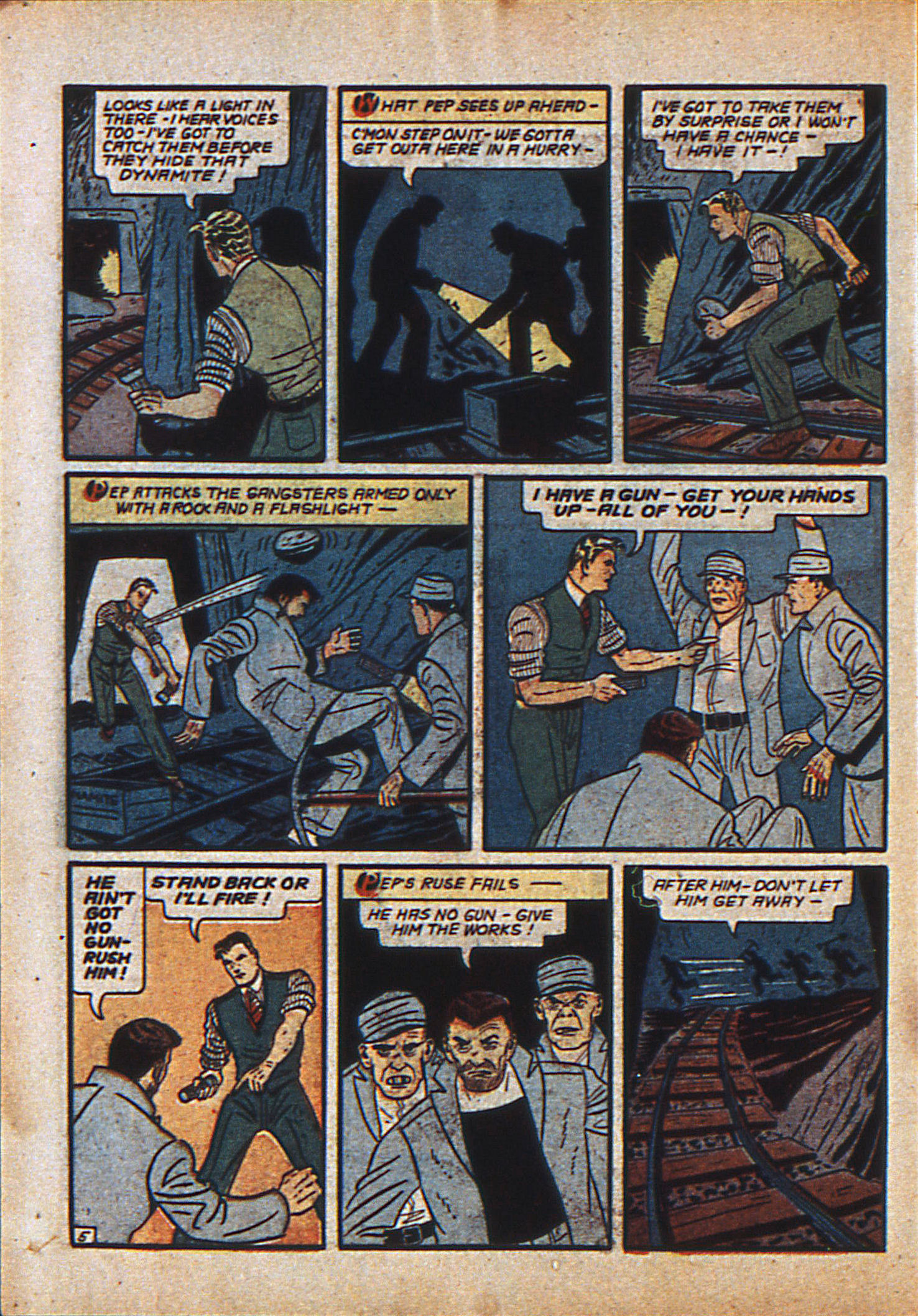 Read online Action Comics (1938) comic -  Issue #23 - 23