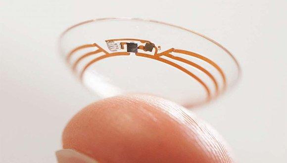 giyilebilir teknoloji - akıllı lens