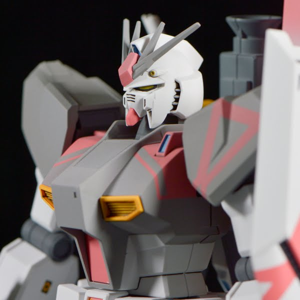 HG Nu Gundam White Unicorn Custom