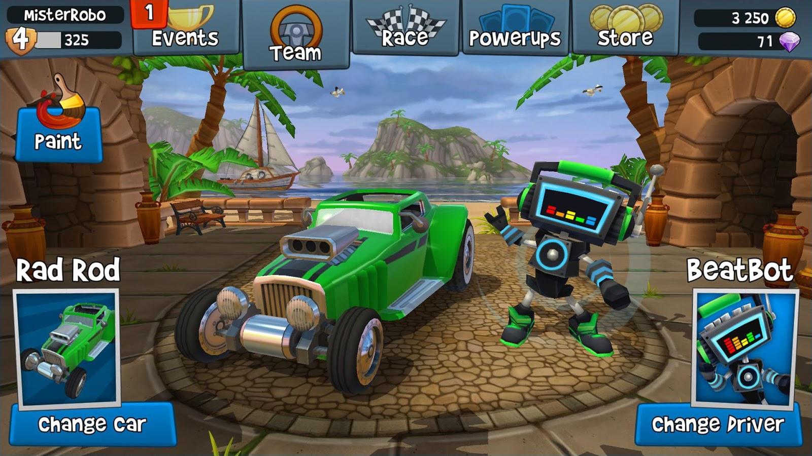 Beach Buggy Racing mod apk