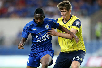 Musa stars In Leicester City's 2-2 Draw Against Middlesbrough
