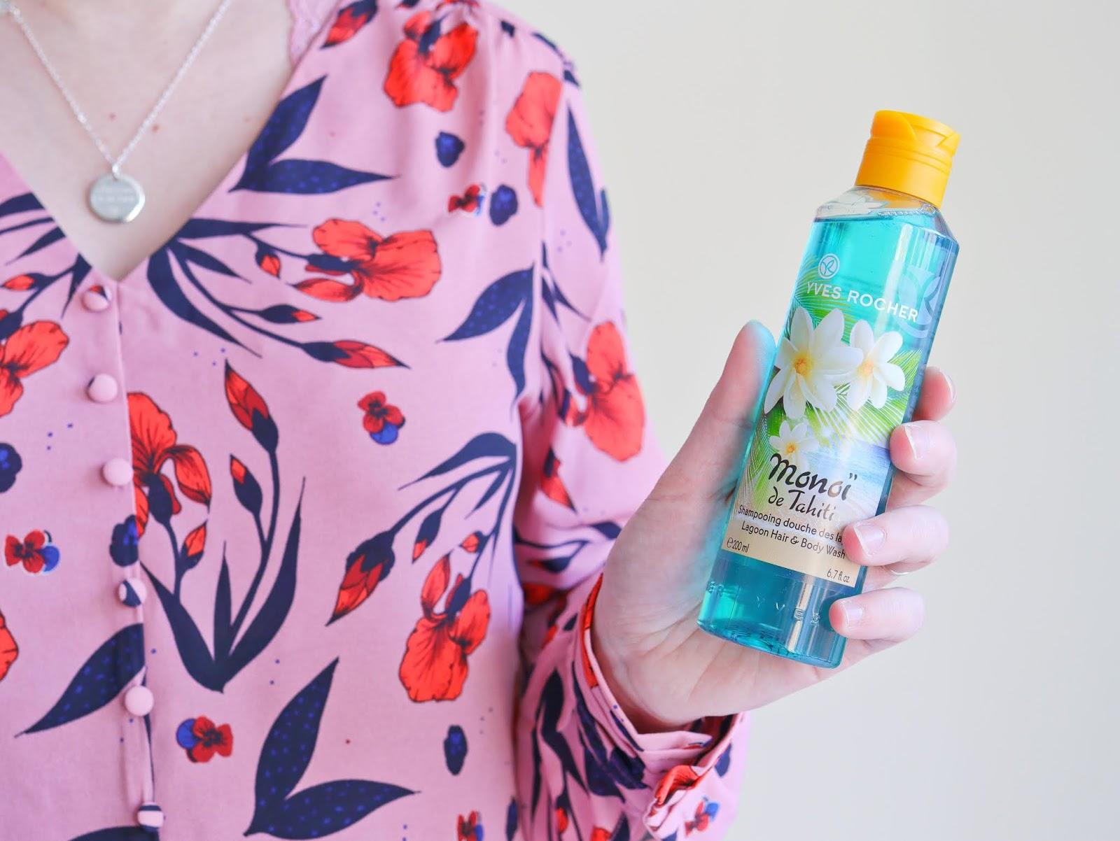 yves rocher avis test gel douche monoi tahiti gommage soin low shampoo beauté concours les gommettes de melo