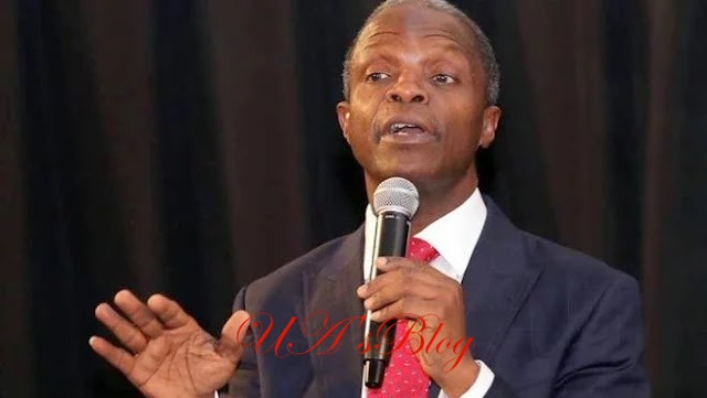 We have prayed for Nigeria, expect change – Osinbajo tells citizens