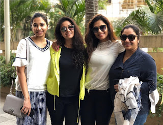 Keerthy Suresh with Cute and Lovely Smile with her Friends in 2018 Trips 1