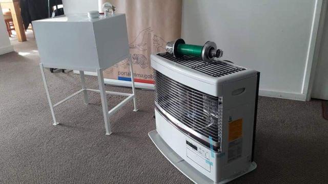 Nuevo llamado a cambio de calefactores en Osorno