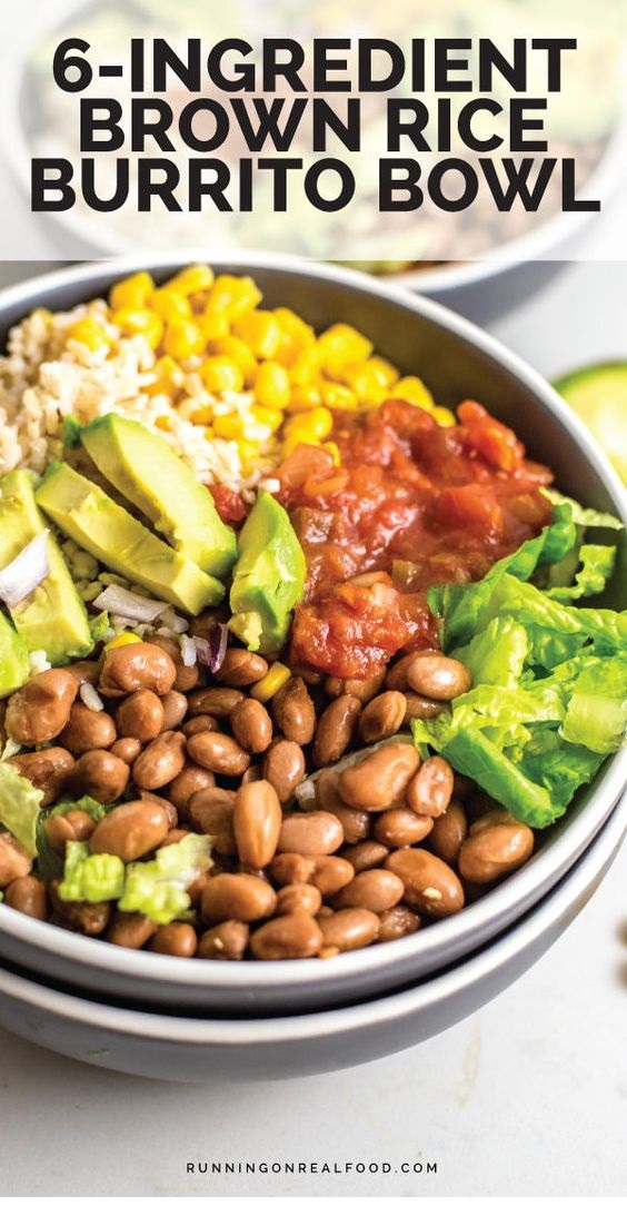 Brown Rice Burrito Bowl