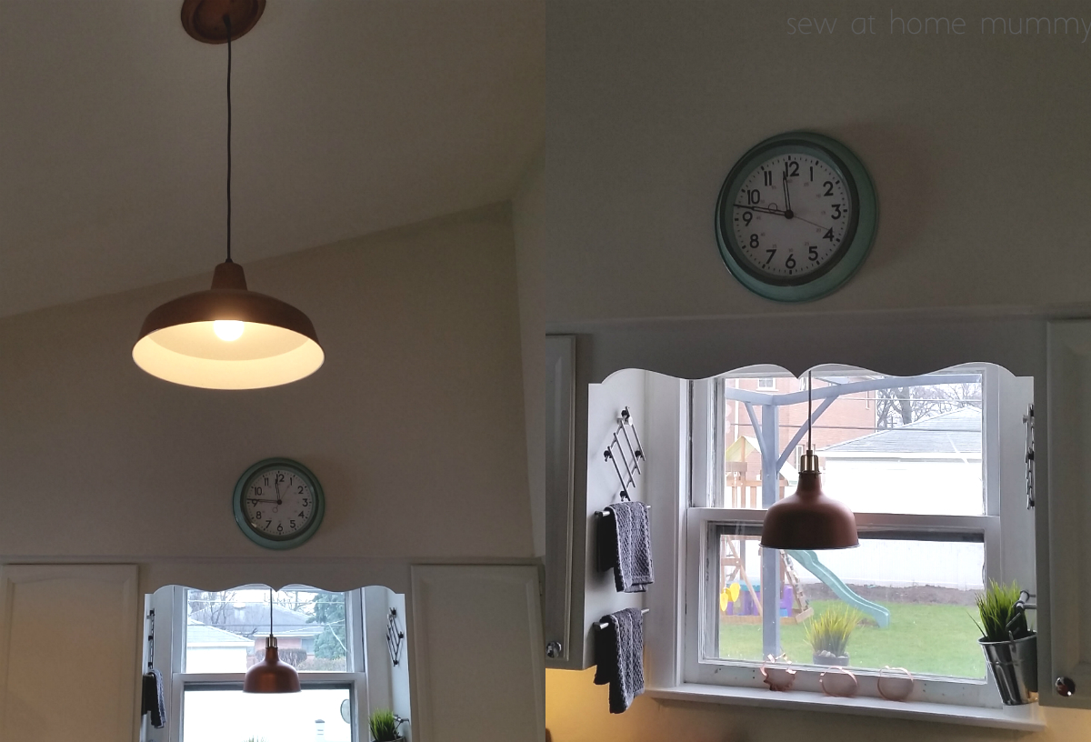 Target kitchen sink accessories - Target S Nice Big 14 Schoolhouse Wall Clock In Mint Above My Kitchen Sink Aff Link