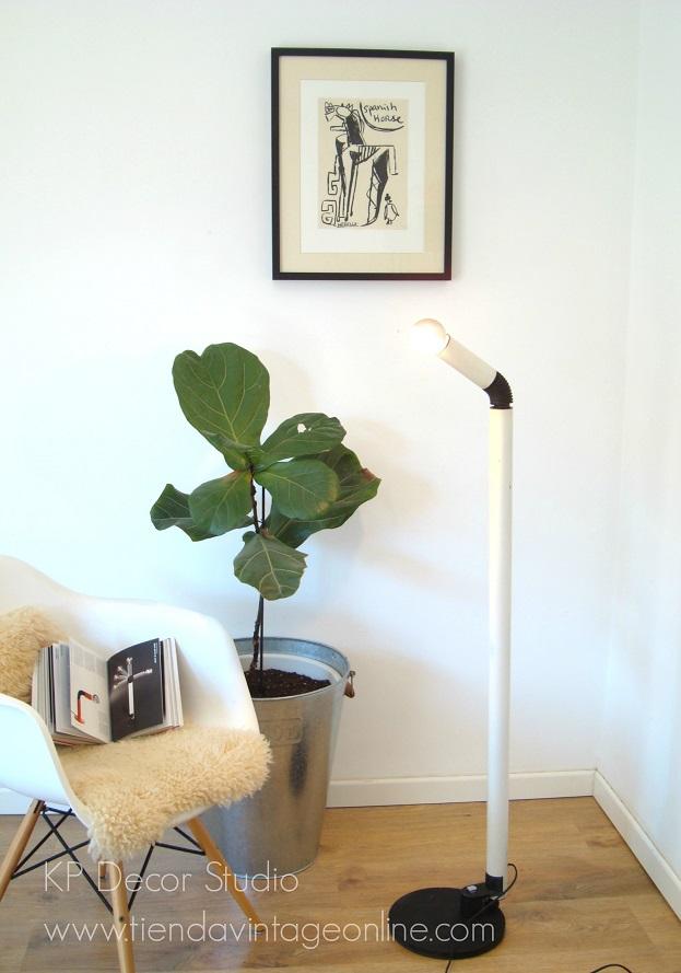 floor lamp stilnovo periscopio design. lámparas de autor italianas en valencia