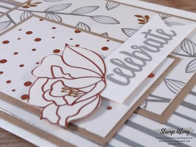 Stampin'Up! Springtime Foil Specialty Designer Series Paper