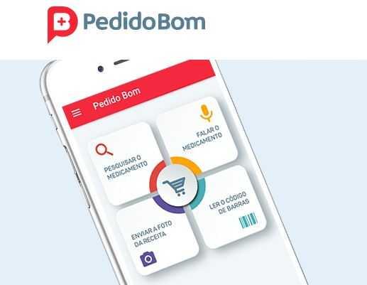 App Pedido Bom garante o remédio necessário pelo melhor preço