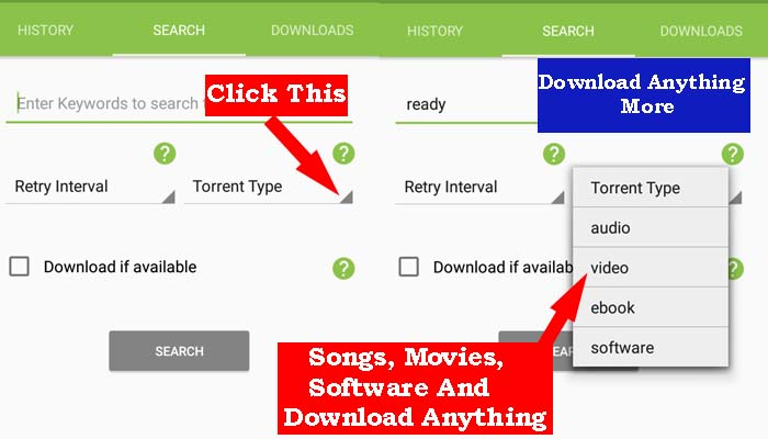 Free Movie Downloader App - TorrDroid-www.mobilereviewindia.com