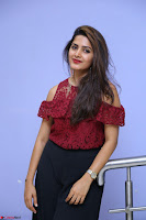 Pavani Gangireddy in Cute Black Skirt Maroon Top at 9 Movie Teaser Launch 5th May 2017  Exclusive 047.JPG