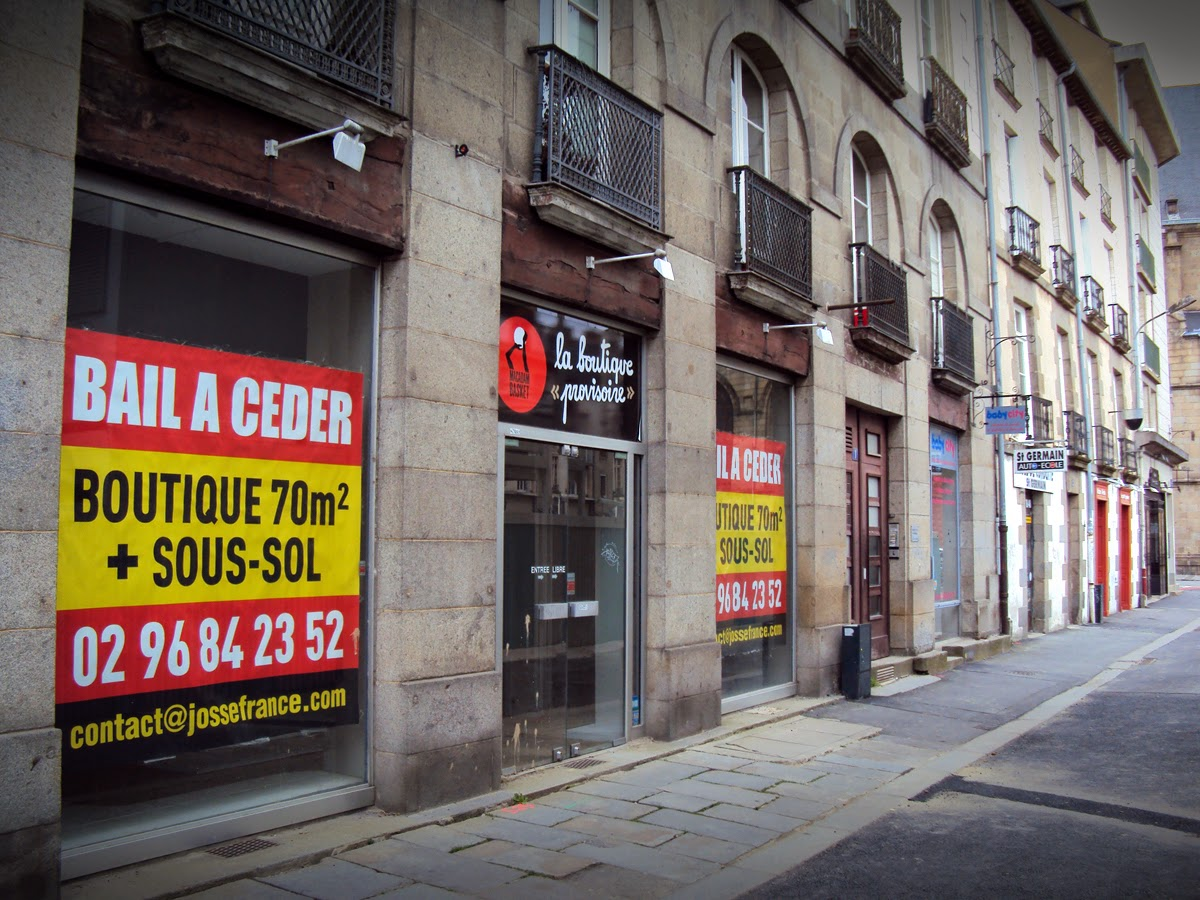 La Boutique Provisoire - 1, Place Saint-Germain, 35000 Rennes