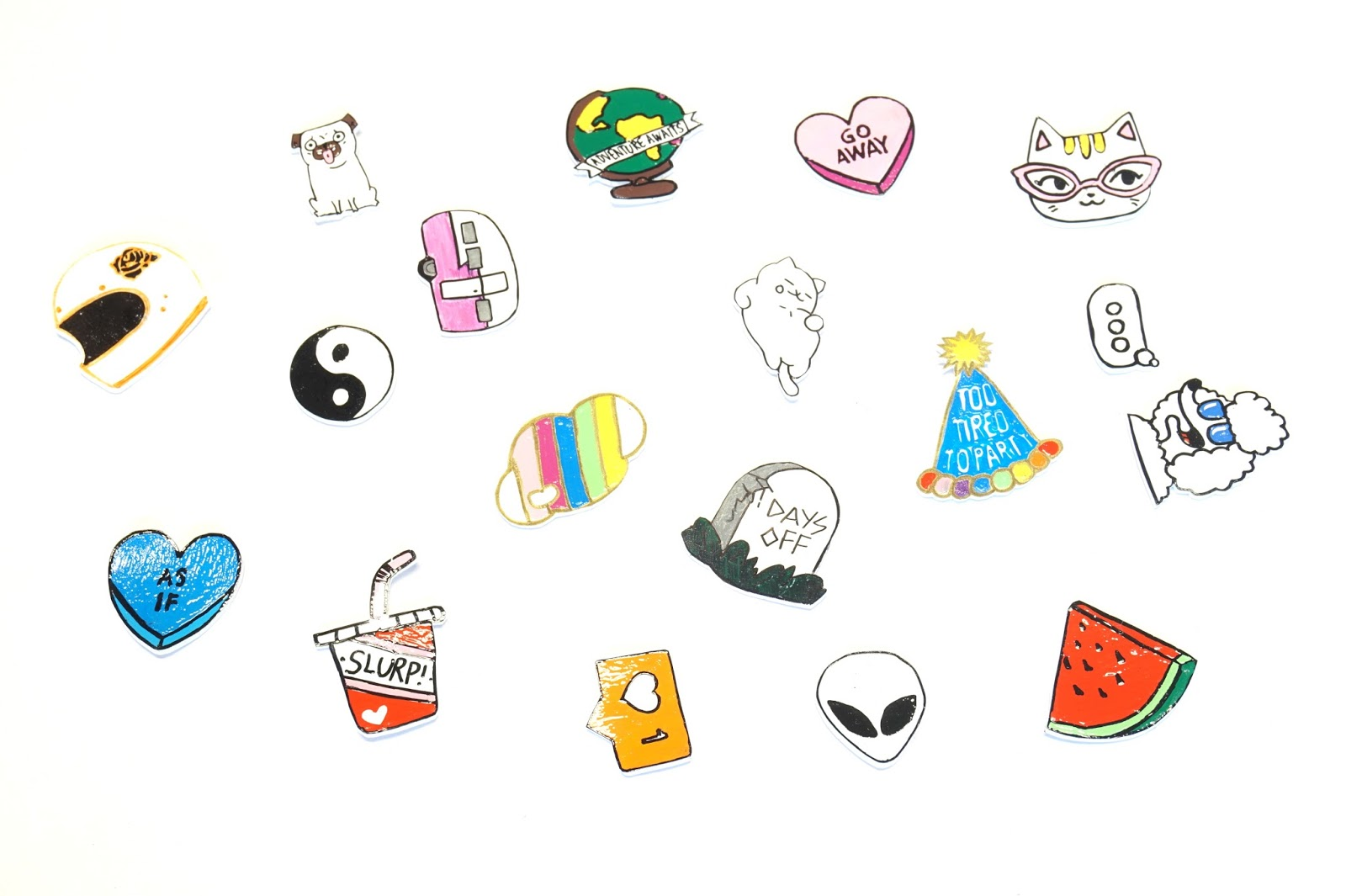 shrinky dink pins
