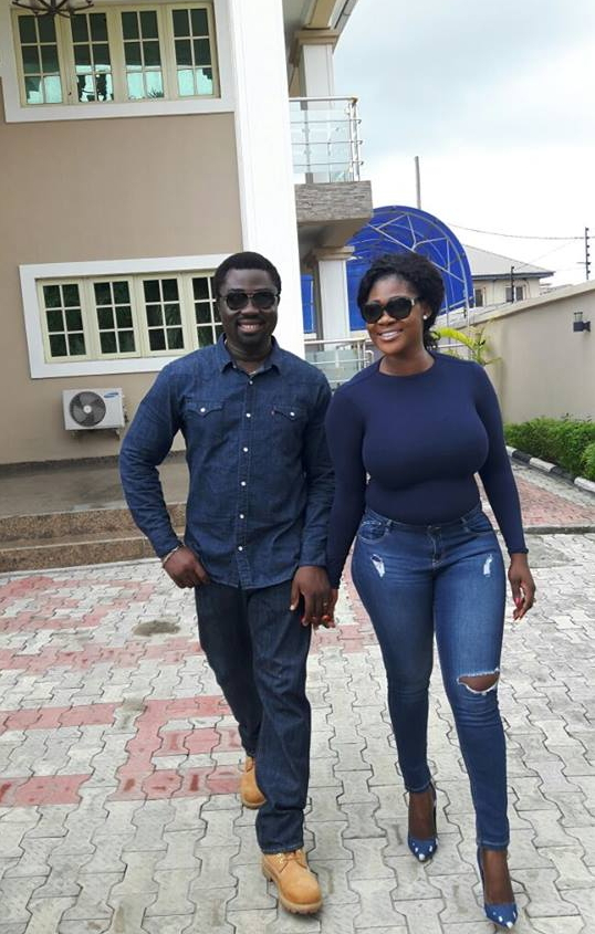 mercy johnson amp husband step out for birthday dinner in