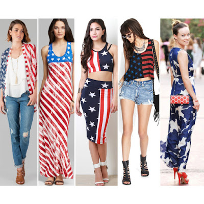 Independence Day USA 4th July Dress Ideas