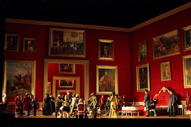 Renée Fleming - Act 3, Der Rosenkavalier - Royal Opera. © ROH. Photograph by Catherine Ashmore