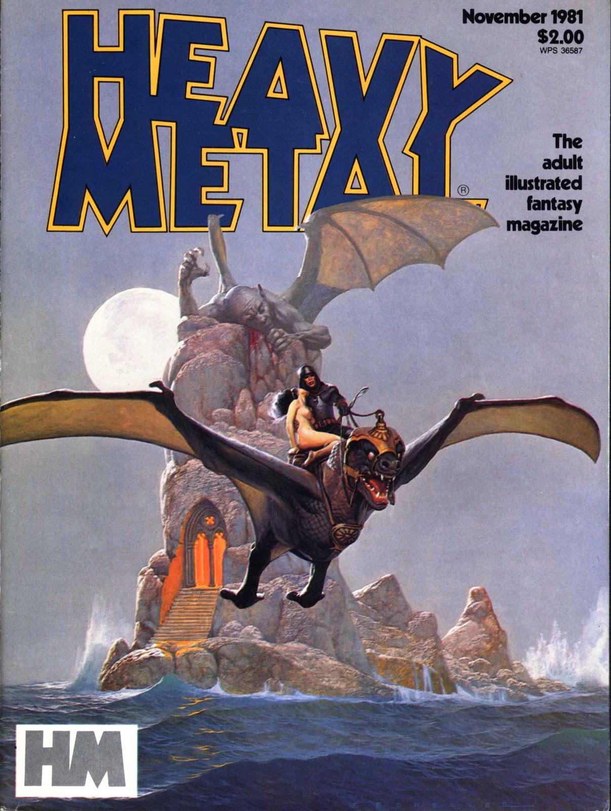 heavy metal magazine june 1981 vol v no 3