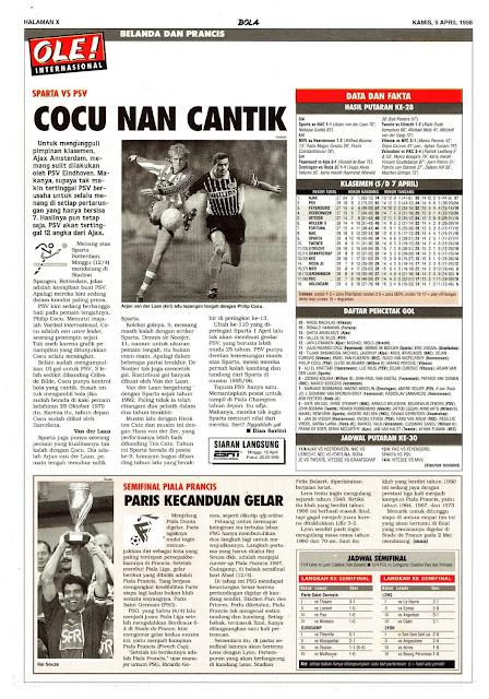 SPARTA VS PSV COCU NAN CANTIK