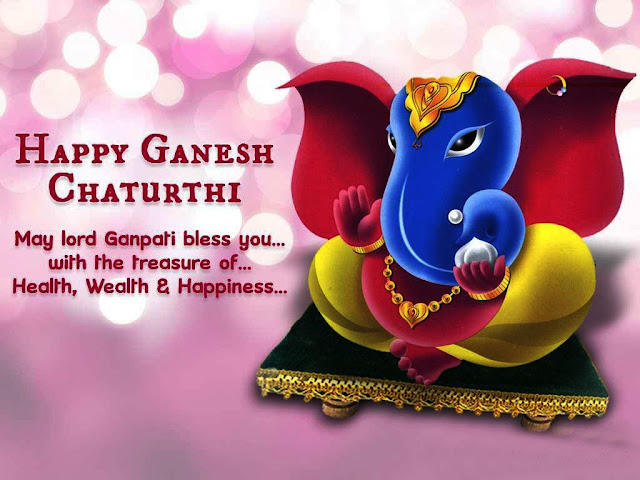 Cartoon Cute Ganesh Chaturthi Images